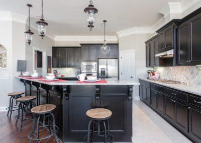 sr kitchen black